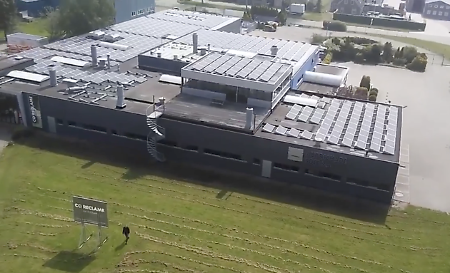 Autoschade Boerma Energieneutraal elektriciteitsgebruik - Autoschade Boerma Winschoten