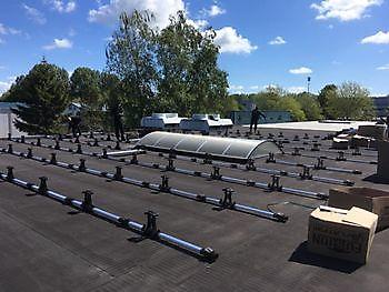 625 zonnepanelen op ons dak Autoschade Boerma Winschoten